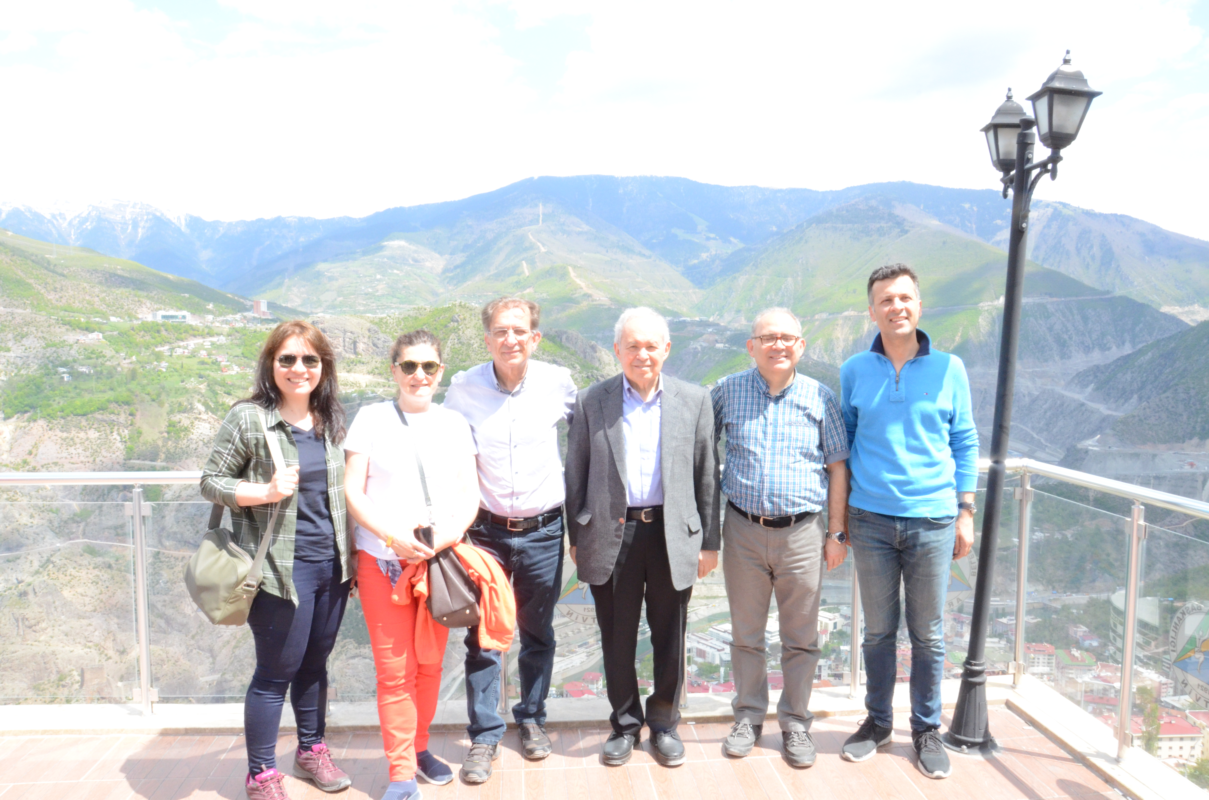 Yusufeli Dam Construction Site and Deriner Dam were visited with a