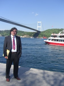 Next to the Bosphorus...May 10, 2010