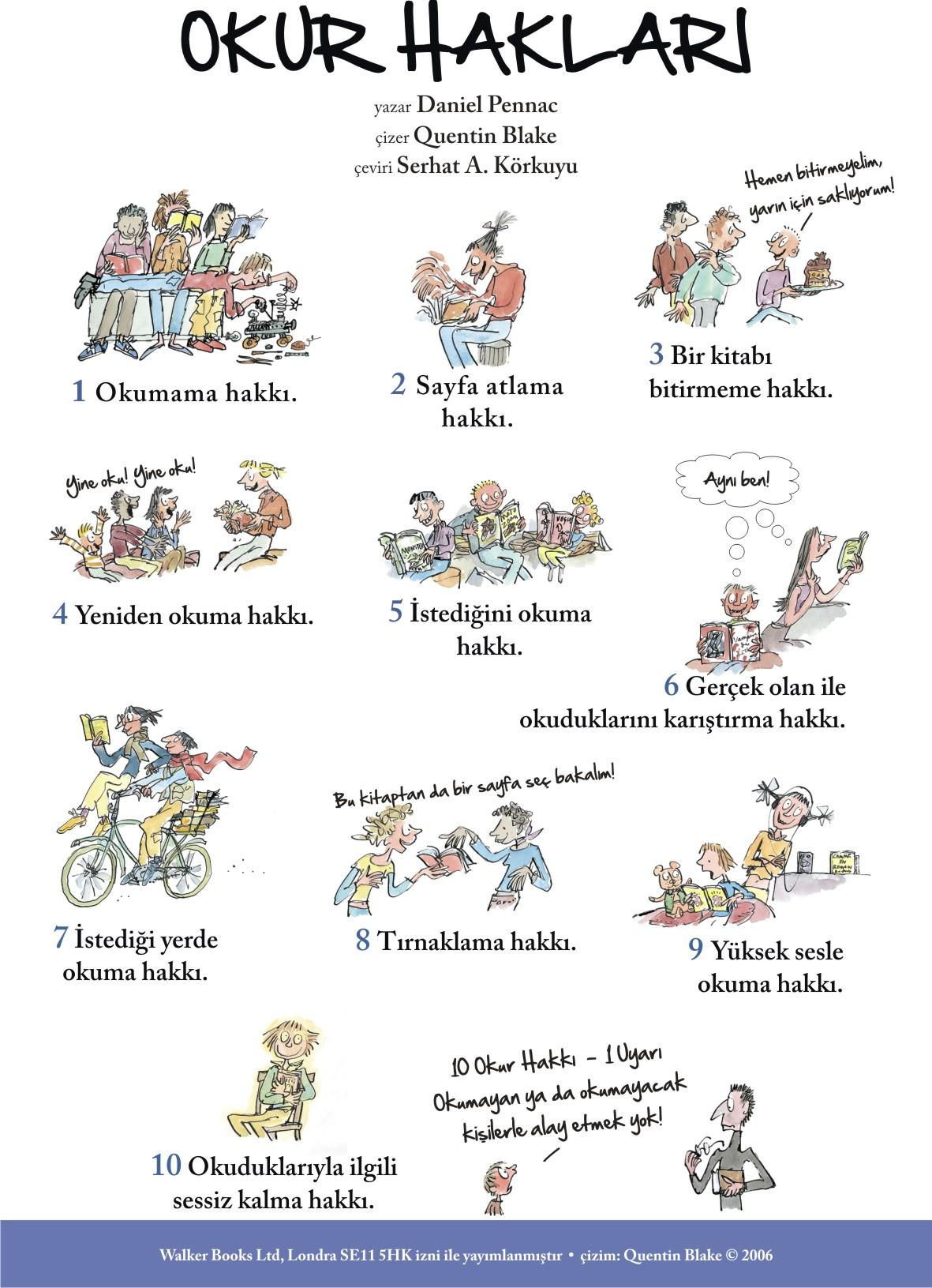 okur hakları