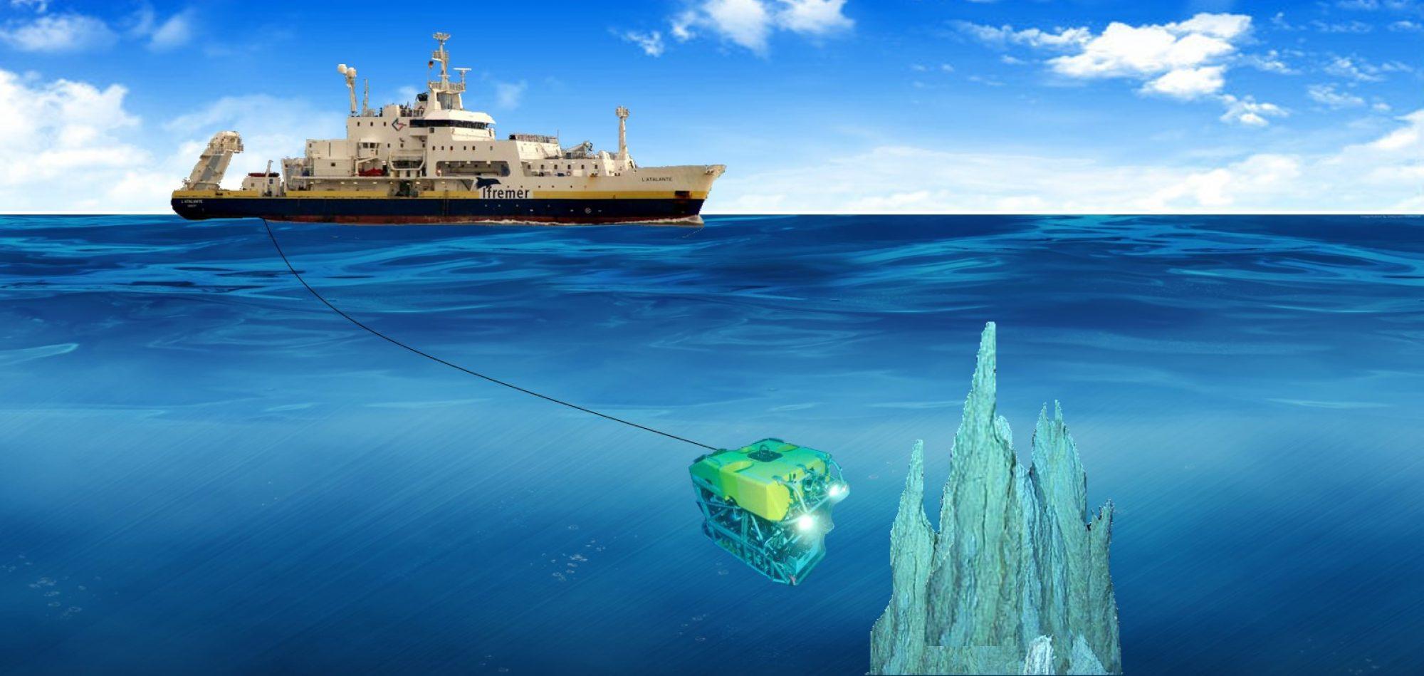 R/V L'ATALANTE  ve ROV Victor ile Derin Atlantik'e Yolculuk