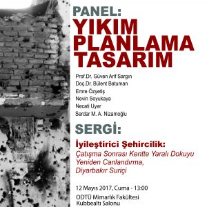 Permalink to:PANEL: Destruction, Planning and Design