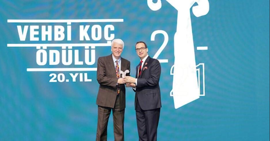 Permalink to:2021 Vehbi Koç Ödülü'nün sahibi İLKYAR ve Prof. Dr. Hüseyin Vural oldu!