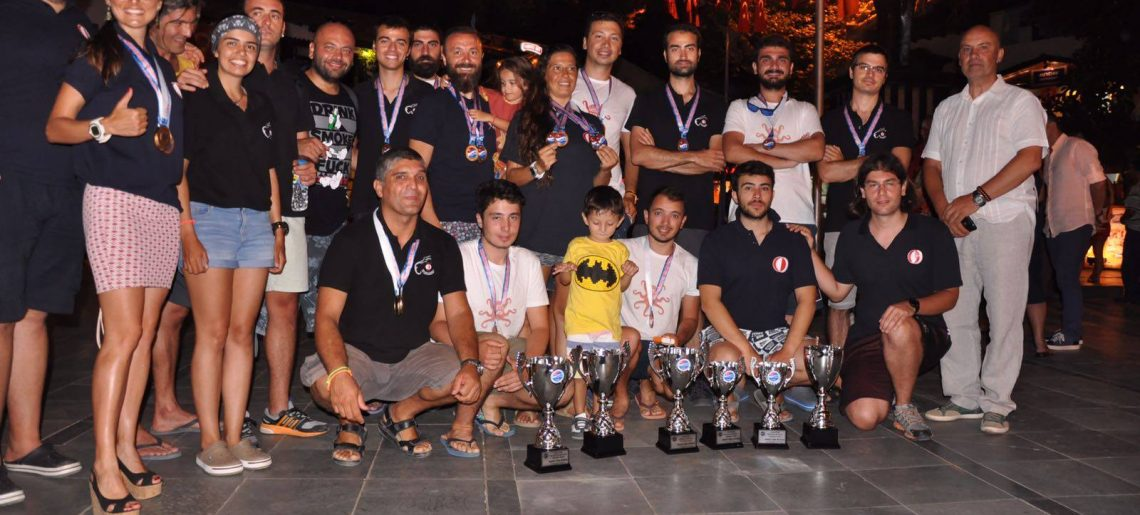 TSSF Serbest Dalış Outdoor Federasyon Kupasında Kadın ve Erkek takımlarımız tüm kategorilerde 1. olmuşlardır