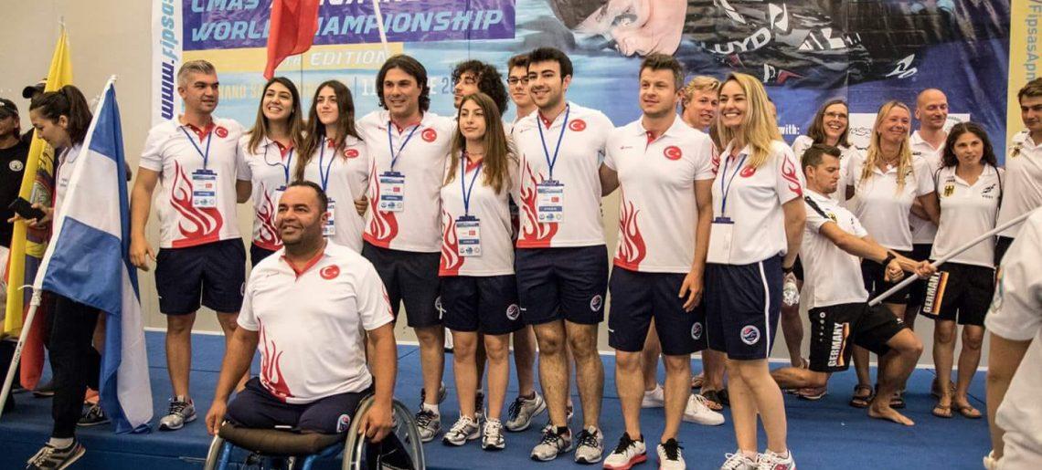 CMAS 10. Serbest Dalış Indoor Dünya Şampiyonası'nda sporcularımız bir çok rekor kırdı!